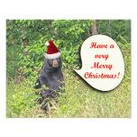 Santa Bear Wishing You a Merry Christmas Art Photo