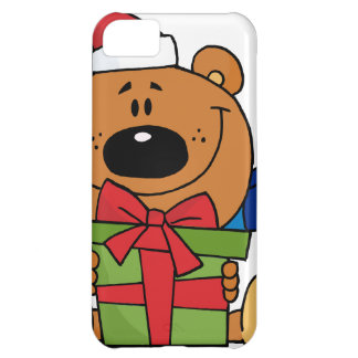 Santa Bear with Christmas Present iPhone 5C Cover