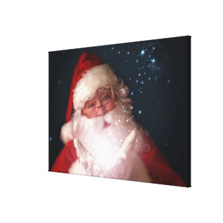 Santa Believe #3 Christmas Art Canvas Print