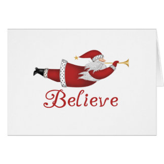 Santa Believe Cards