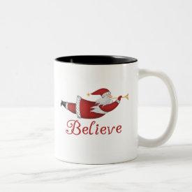 Santa Believe Mug