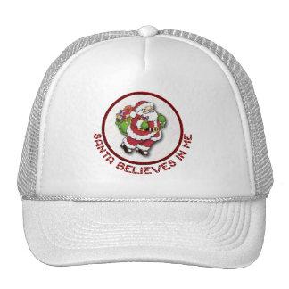 Santa Believes In Me Hat