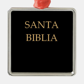 Santa Biblia Ornament
