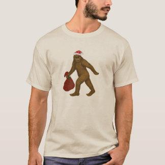 Santa Bigfoot T-Shirt
