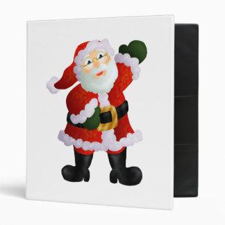 Santa Vinyl Binder