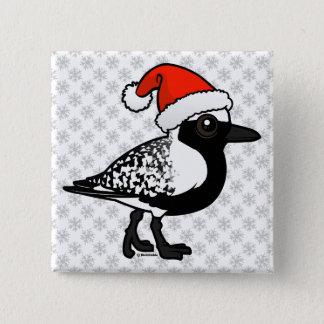 Santa Black-bellied Plover Button