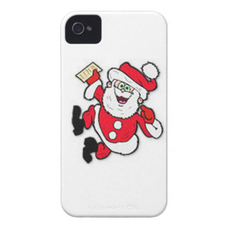 Santa BlackBerry Bold Case-Mate Barely There™ iPhone 4 Covers