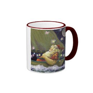 Santa Boat mug