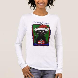Santa BoBo the Black Cat - Christmas shirt