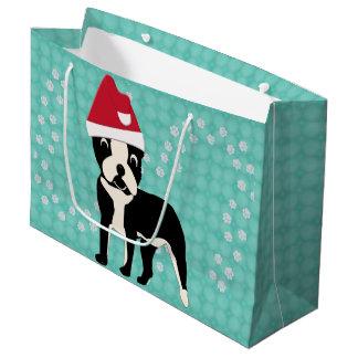 Santa Boston Large Gift Bag