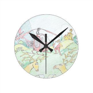 Santa bran new ride! Clock