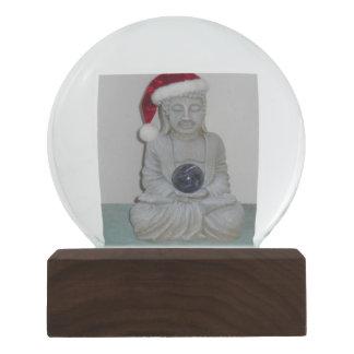 Santa Buddha Snow Globe