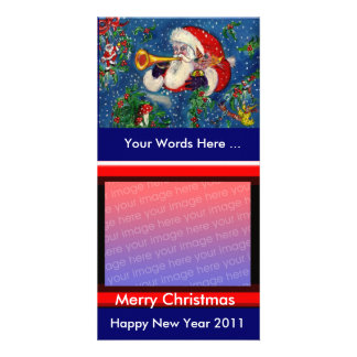 SANTA  BUGLER / CHRISTMAS NIGHT CARD