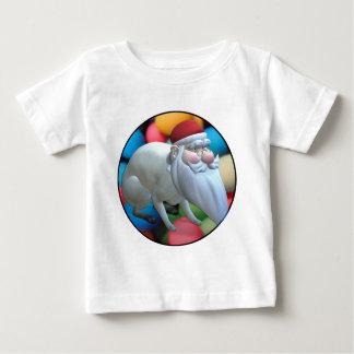 Santa Bunny Baby T-Shirt