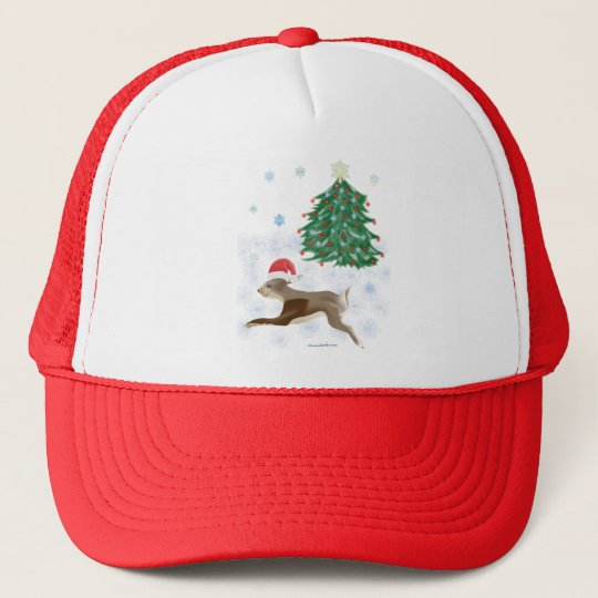 Santa Bunny Trucker Hat