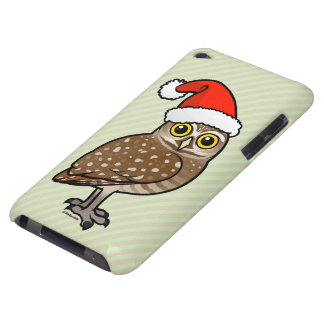 Santa Burrowing Owl Barely There iPod Cover