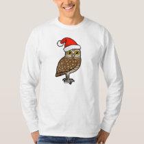 Santa Burrowing Owl T-Shirt