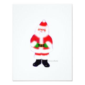 Santa by Connie 4.25x5.5 Paper Invitation Card