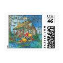 Santa Cabin stamp