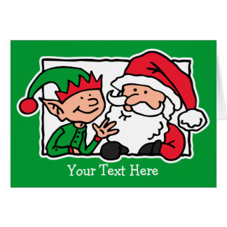Santa, Can We Talk Card
