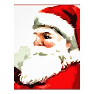 Santa Cane Letterhead