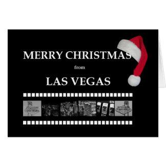 SANTA CAP Merry Christmas from Las Vegas Card