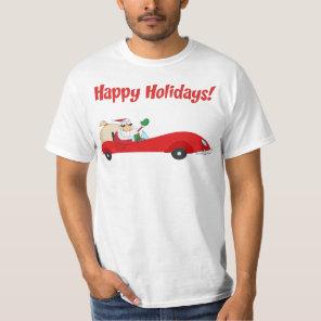 santa car  tshirt