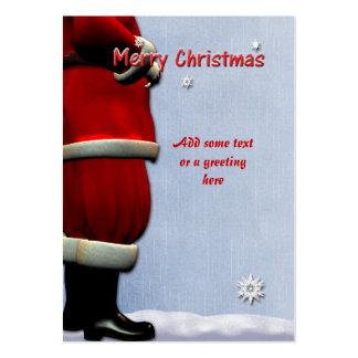 Santa Cards Business Card Template