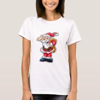 Santa cartoon shirt