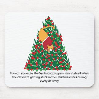 santa-cat-2013-12-15-01 mouse pad