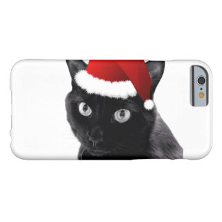 Santa Cat Barely There iPhone 6 Case