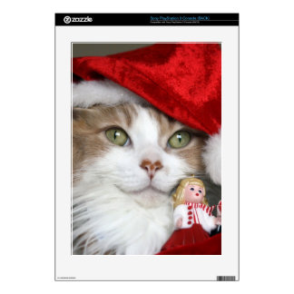 Santa cat - christmas cat - cute kittens skins for the PS3