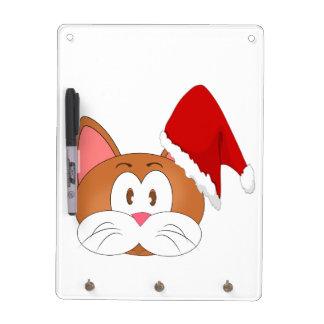 Santa Cat Dry-Erase Board