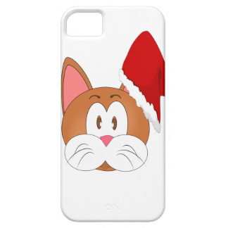 Santa Cat iPhone SE/5/5s Case