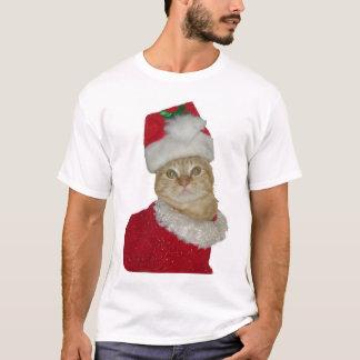 Santa Cat shirt