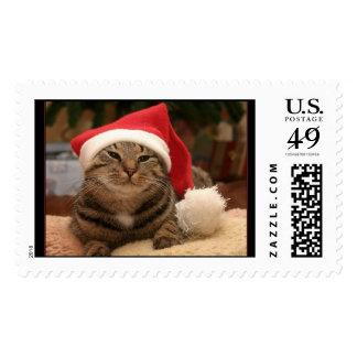 """""""Santa Cat"""" Stamp"""