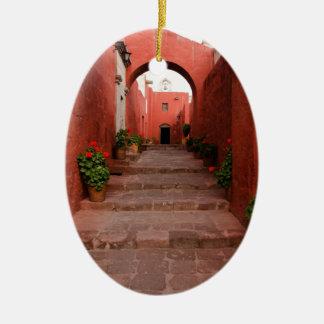Santa Catalina Ceramic Ornament