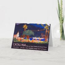 Santa Catalina Island 1935 Card