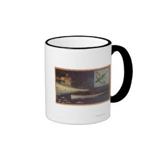 Santa Catalina Island, CA Casino, Flying Fish Mugs