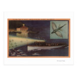 Santa Catalina Island, CA Casino, Flying Fish Postcard