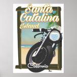 Santa Catalina Island , California USA Poster
