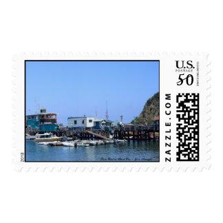 Santa Catalina Island Ocean Panorama Postage