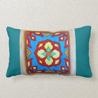 Santa Catalina Island Tile Pillow Lotus JTitchenal