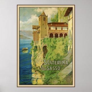 Santa Caterina del Sasso Póster