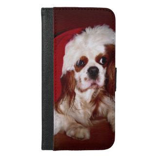 Santa Cavalier Spaniel Puppy iPhone 6/6s Plus Wallet Case
