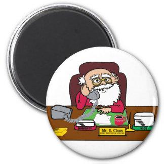 Santa CEO Magnet
