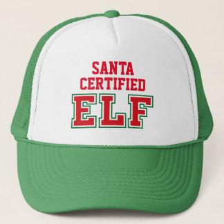 Santa Certified Elf Trucker Hat