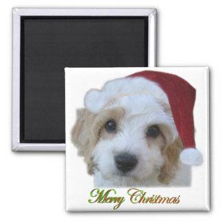Santa Chase Magnet