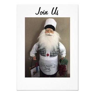 SANTA CHEF INVITES ALL TO YOUR CHRISMAS GATHERING