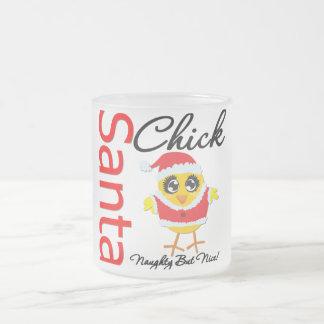 Santa Chick Naughty But Nice Coffee Mugs